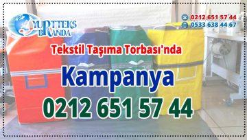 Tekstil Taşıma Torbası'nda Kampanya